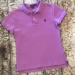 Polo by Ralph Lauren Purple Polo